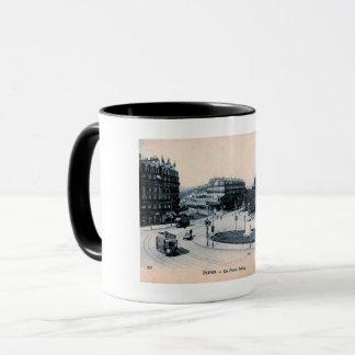 Dijon, France, La Place Darcy, Vintage Mug