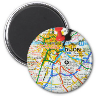 Dijon, France Magnet