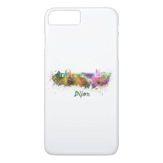 Dijon skyline in watercolor iPhone 8 plus/7 plus case