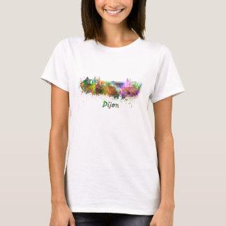 Dijon skyline in watercolor T-Shirt