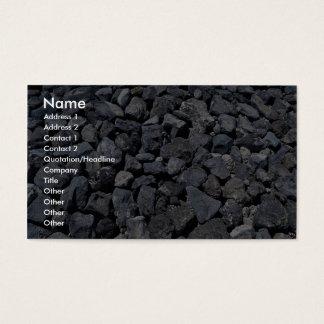 Dike stones on the coast of Los Cristianos, Teneri Business Card