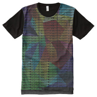 Dikr all over All-Over-Print T-Shirt