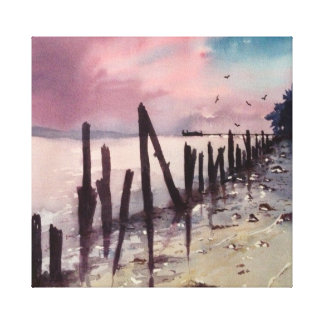 Dilapidated Fence Canvas Print