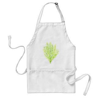 Dill herbs Dill watercolour Standard Apron
