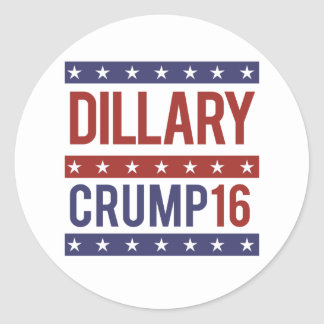 Dillary Crump 16 - -  Round Sticker