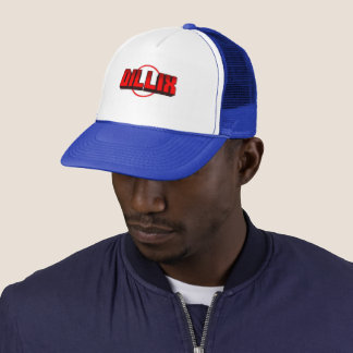 Dillix Official Cap (Blue And Red)