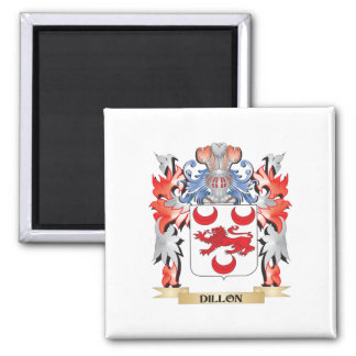 Dillon Coat of Arms - Family Crest Square Magnet