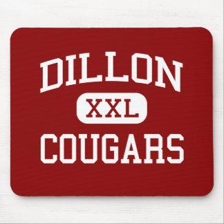 Dillon - Cougars - Middle School - Dillon Montana Mouse Pad