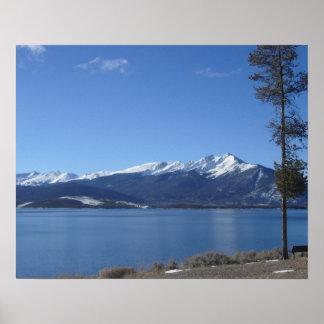 Dillon Lake Colorado Poster