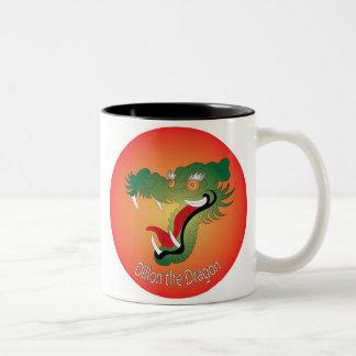 Dillon the dragon mug