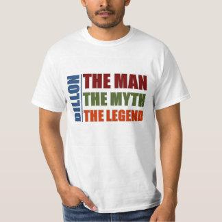 Dillon the man the myth the legend T-Shirt