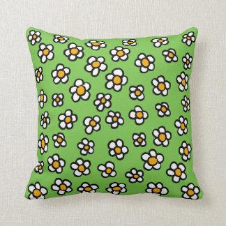 Dillon's Daisies Throw Pillow