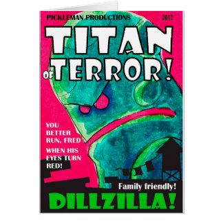 Dillzilla Magazine Cover Card