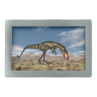 Dilong dinosaur - 3D render Belt Buckles