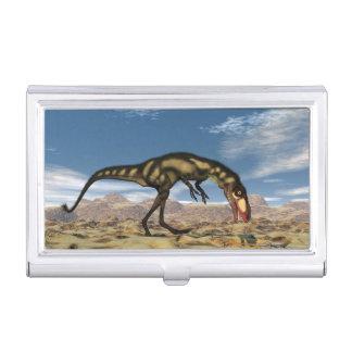 Dilong dinosaur - 3D render Business Card Holder