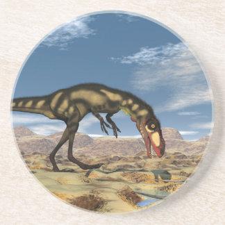 Dilong dinosaur - 3D render Coaster