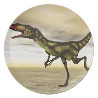 Dilong dinosaur - 3D render Dinner Plate