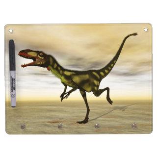 Dilong dinosaur - 3D render Dry Erase Whiteboards