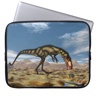Dilong dinosaur - 3D render Laptop Sleeve