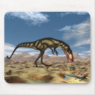 Dilong dinosaur - 3D render Mouse Pad