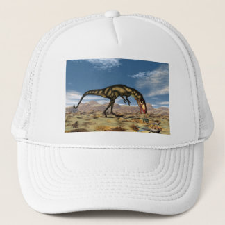 Dilong dinosaur - 3D render Trucker Hat