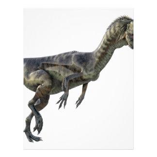 Dilophosaurus Dinosaur Letterhead