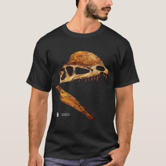 Dilophosaurus Skull Profile T-Shirt