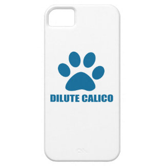 DILUTE CALICO CAT DESIGNS CASE FOR THE iPhone 5