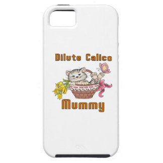 Dilute Calico Cat Mom iPhone 5 Cover