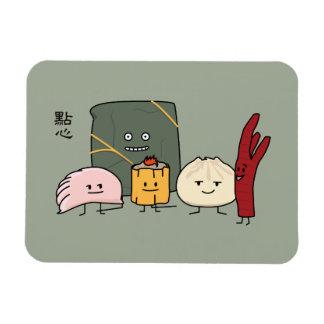 Dim Sum Pork Bao Shaomai Chinese dumpling Buns Bun Magnet