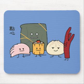 Dim Sum Pork Bao Shaomai Chinese dumpling Buns Bun Mouse Pad