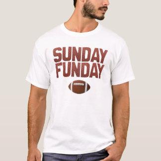 Dimanche Funday - édition du football T-shirt