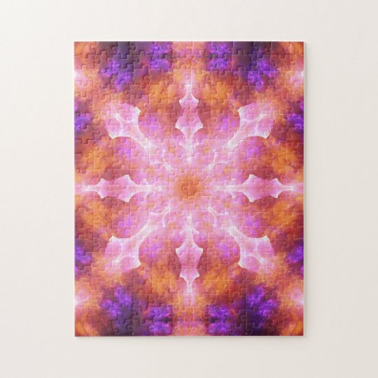 Dimensional Awareness Mandala Jigsaw Puzzle