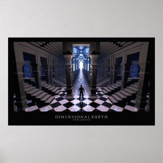 Dimensional Depth Poster