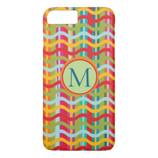 Dimensional Smiles (Brand Options) MONOGRAM - iPhone 8 Plus/7 Plus Case