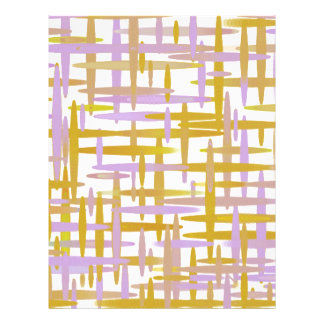 Dimensional Stripes Letterhead