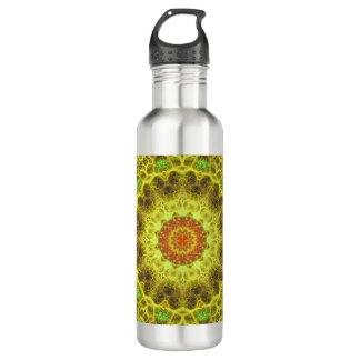 Dimensional Transition Mandala 710 Ml Water Bottle