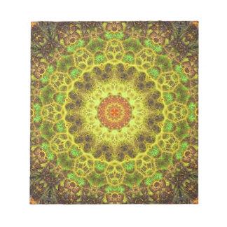 Dimensional Transition Mandala Notepad