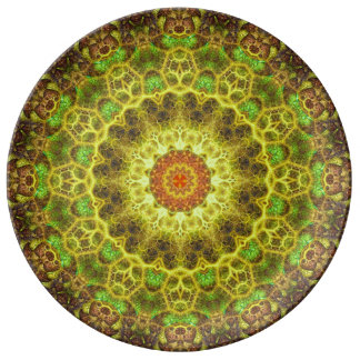 Dimensional Transition Mandala Plate