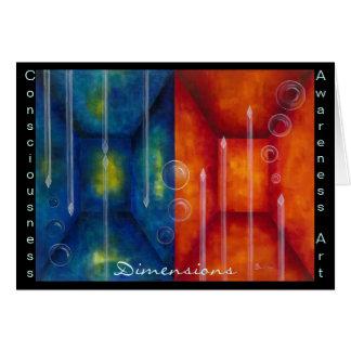 Dimensions card