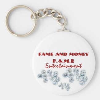 dimo, dimo, dimo, Fame and Money , F.A.M.E, Ent... Keychain