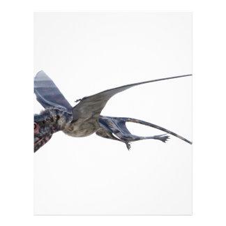 Dimorphodon Flying Letterhead