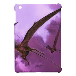Dimorphodons Flying out of the Clouds iPad Mini Case