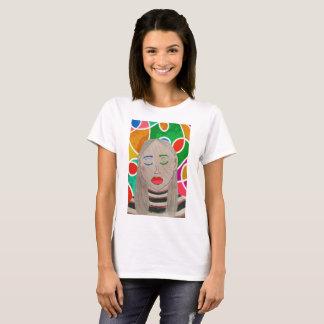 Dina by Jesse Raudales T-Shirt
