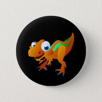 Dina The Dinosaur 2 Inch Round Button