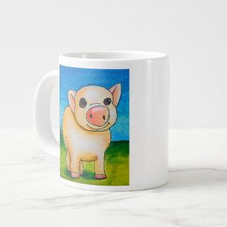 Dina's 4 legged pig Jumbo Mug