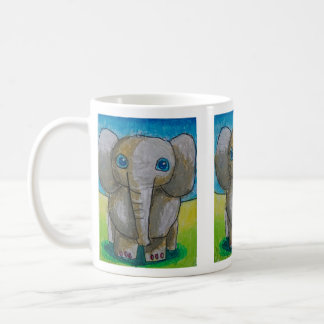 Dina's Elephant, regular size mug