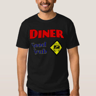 Diner Good Grub Hamburger Restaurant Art T-shirt