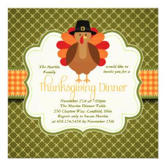 Dîner mignon rustique élégant de thanksgiving de l