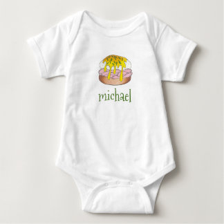 Diner Style Eggs Benedict w/ Hollandaise Foodie Baby Bodysuit